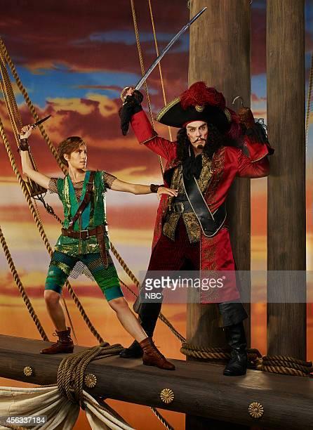 2014 Pictured Allison Williams as Peter Pan Christopher Walken as Captain Hook