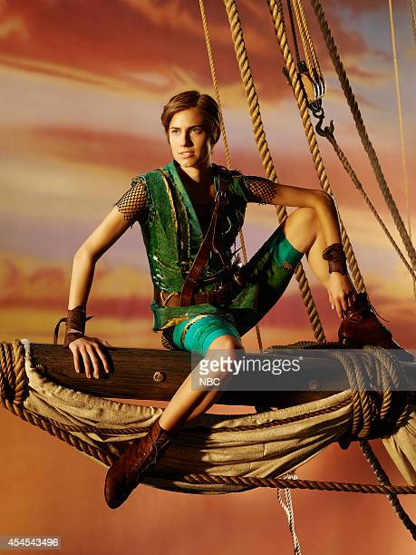 2014 Pictured Allison Williams as Peter Pan