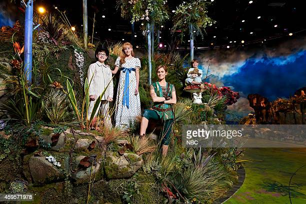2014 Pictured Jake Lucas as John Darling Taylor Louderman as Wendy Darling Allison Williams as Peter Pan John Allyn as Michael Darling