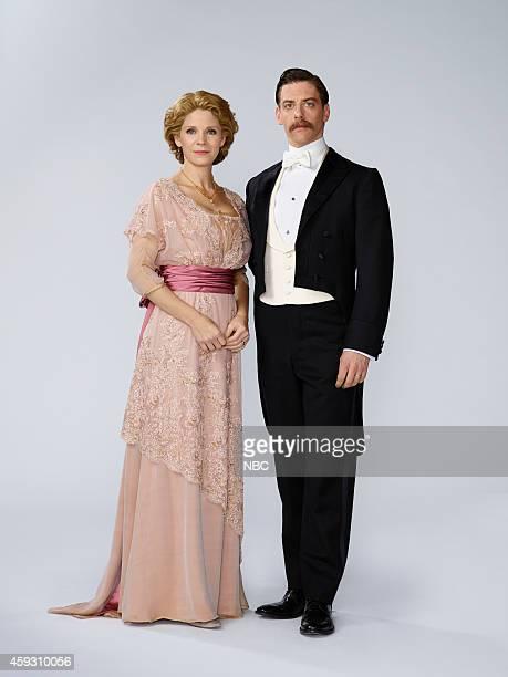 2014 Pictured Kelli O'Hara as Mrs Darling Christian Borle as Mr Darling