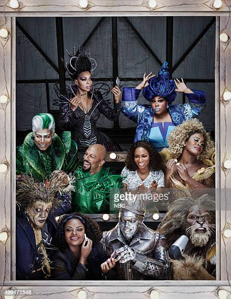 2015 Pictured bottom row Elijah Kelley as Scarecrow Shanice Williams as Dorothy NeYo as TinMan David Alan Grier as The Cowardly Lion middle row Queen...