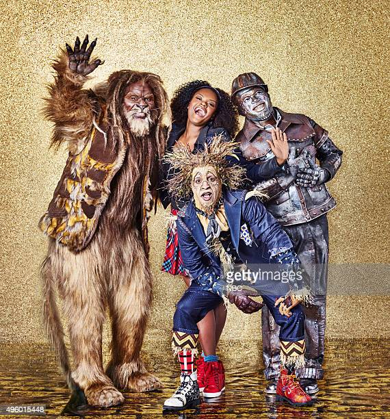 2015 Pictured David Alan Grier as Lion Shanice Williams as Dorothy Elijah Kelley as Scarecrow NeYo as Tinman