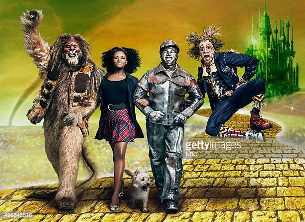 2015 Pictured David Alan Grier as Lion Shanice Williams as Dorothy NeYo as Tinman Elijah Kelley as Scarecrow