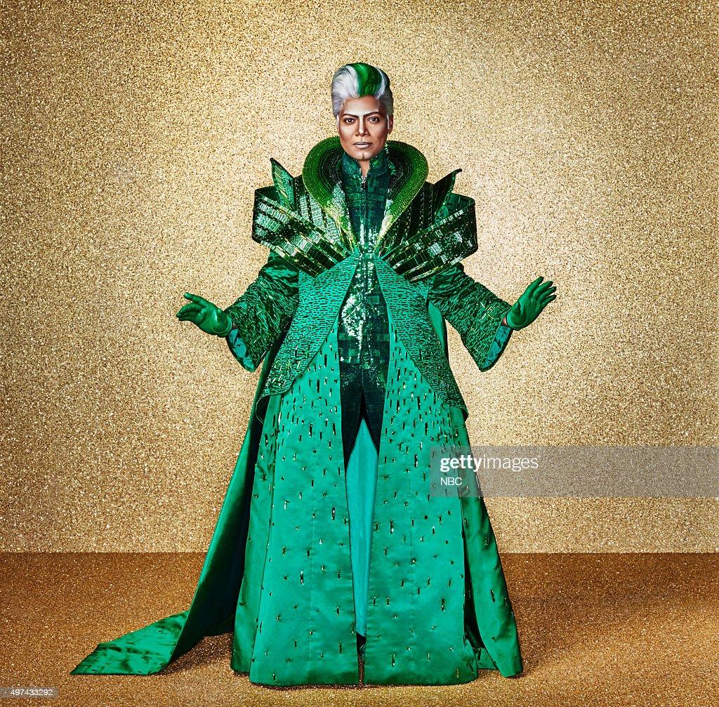 Queen Latifah as The Wiz --