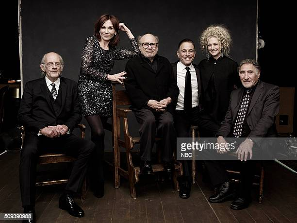 2016 Pictured Christopher Lloyd Marilu Henner Danny DeVito Tony Danza Carol Kane Judd Hirsch