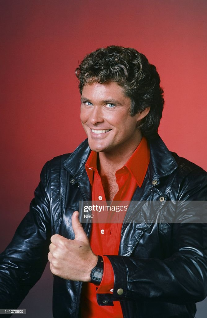 <a gi-track='captionPersonalityLinkClicked' href=/galleries/search?phrase=David+Hasselhoff&family=editorial&specificpeople=209380 ng-click='$event.stopPropagation()'>David Hasselhoff</a> as Michael Knight -- Photo by: Gary Null/NBCU Photo Bank