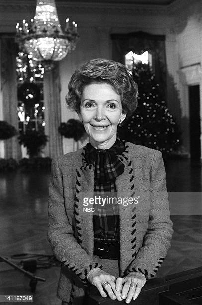 WASHINGTON '1983' Season 3 Pictured First Lady Nancy Reagan in the East Room of the White House Photo by Al Levine/NBC/NBCU Photo Bank