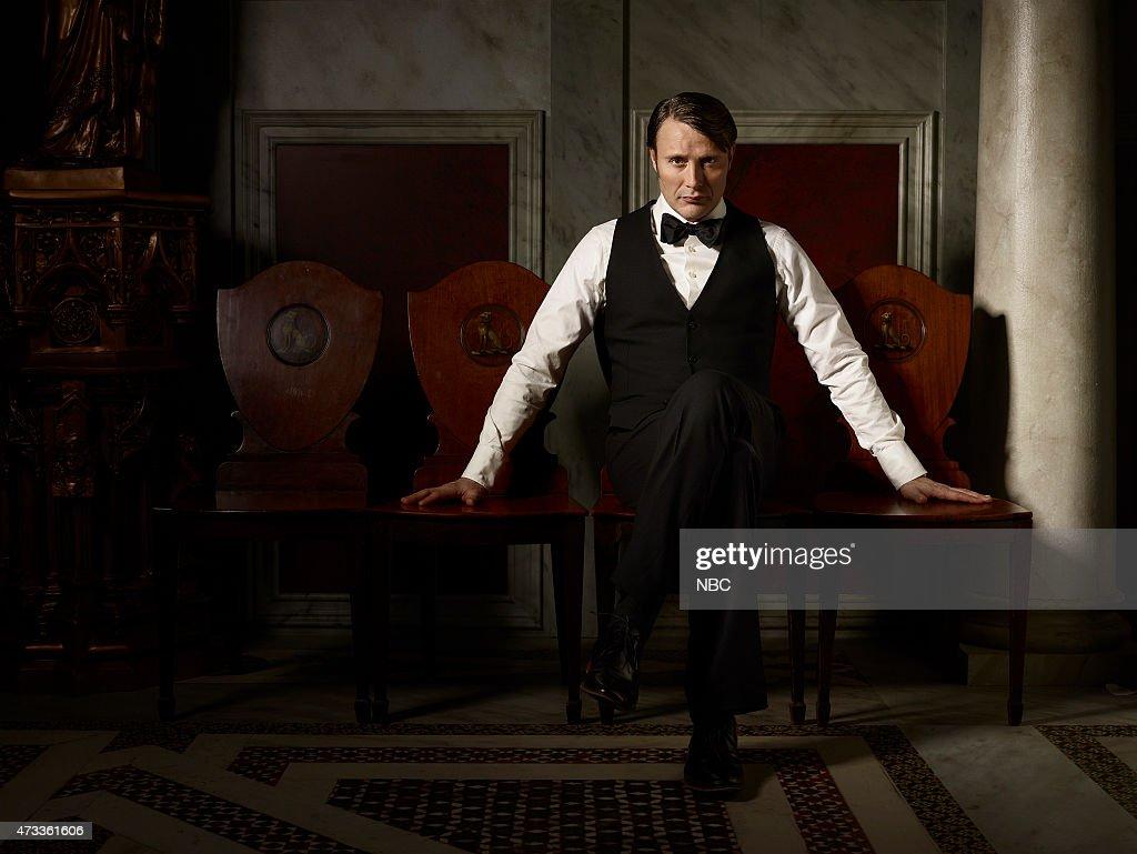 3 Pictured Mads Mikkelsen as Hannibal Lecter