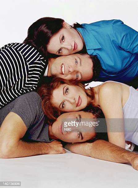 Megan Mullally as Karen Walker Sean Hayes as Jack McFarland Debra Messing as Grace Adler Eric McCormack as Will Truman Photo by Chris Haston/NBCU...