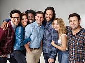3 Pictured Rick Glassman as Burski Bianca Kajlich as Leslie Ron Funches as Shelly Brent Morin as Justin Chris D'Elia as Danny Bridgit Mendler as...