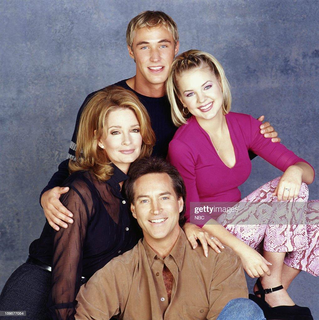 Kyle Lowder as Brady Black, Kirsten Storms as Belle Black, Drake Hogestyn as John Black, Deidre Hall as Dr. Marlena Evans Black --