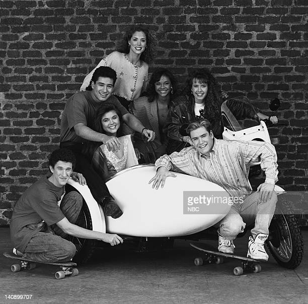Dustin Diamond as Screech Powers Mario Lopez as AC Slater Tiffani Thiessen as Kelly Kapowski Elizabeth Berkley as Jessie Spano Lark Voorhies as Lisa...
