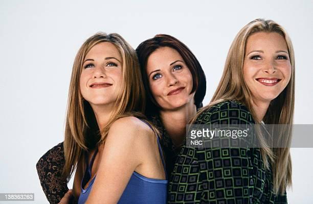 Jennifer Aniston as Rachel Green Courteney Cox as Monica Geller Lisa Kudrow as Phoebe Buffay