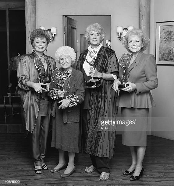 Rue McClanahan as Blanche Devereaux Estelle Getty as Sophia Petrillo Bea Arthur as Dorothy Petrillo Zbornak Betty White as Rose Nylund Photo by Paul...