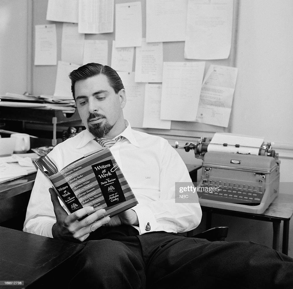 Writer/Mad Lib creator Leonard Stern in 1958 --