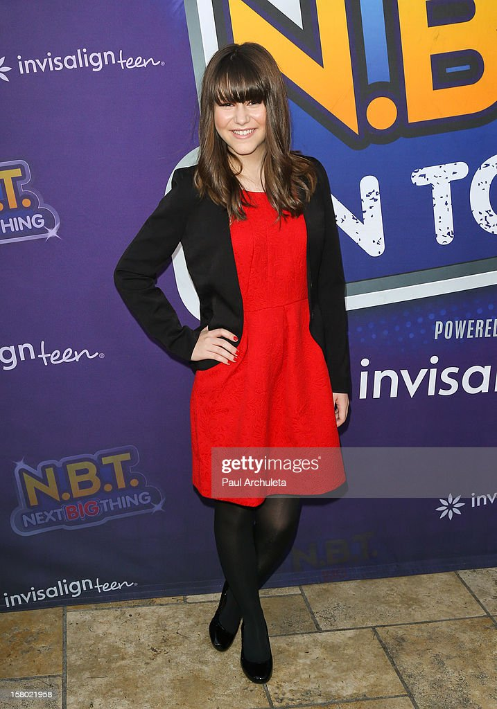 T. Season 4 winner Shealeigh attends the Radio Disney's 'N.B.T.' (Next BIG Thing) season five winner announcements at The Americana at Brand on December 8, 2012 in Glendale, California.