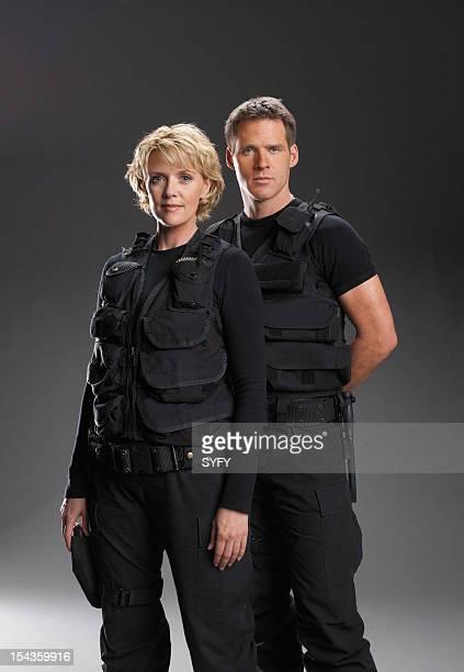 Amanda Tapping as Maj Samantha Carter Ben Browder as Lt Colonel Cameron Mitchell