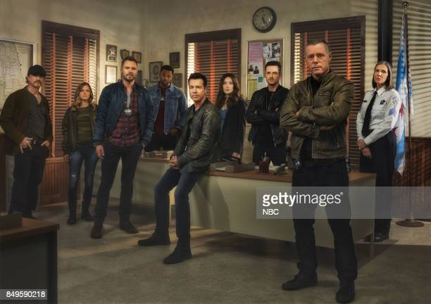 5 Pictured Elias Koteas as Alvin Olinsky Tracy Spiridakos as Det Hailey Upton Patrick Flueger as Adam Ruzek LaRoyce Hawkins as Kevin Atwater Jon Seda...