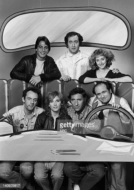 Tony Danza as Tony Barta Andy Kaufman as Latka Graves Carol Kane as Simka DahblitzGraves Danny DeVito as Louie De Palma Judd Hirsch as Alex Reiger...