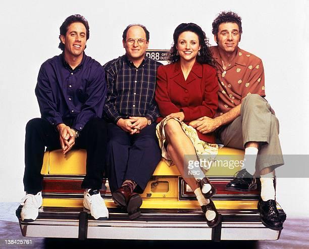 Jerry Seinfeld as Jerry Seinfeld Jason Alexander as George Costanza Julia LouisDreyfus as Elaine Benes Michael Richards as Cosmo Kramer