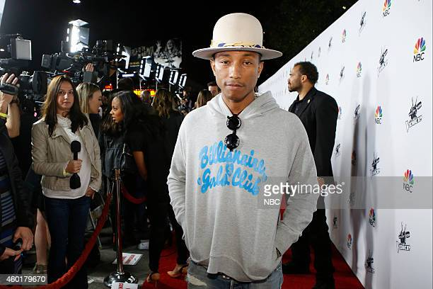 THE VOICE 'Season 7 Coaches Concert at Hyde' Pictured Pharrell Williams