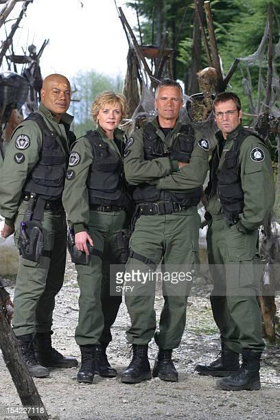 Christopher Judge as Teal'c Amanda Tapping as Maj Samantha Carter Richard Dean Anderson as Colonel Jack O'Neill Michael Shanks as Dr Daniel Jackson