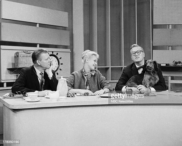 NBC News' Jack Lescoulie Betsy Palmer Dave Garroway on September 24 1958