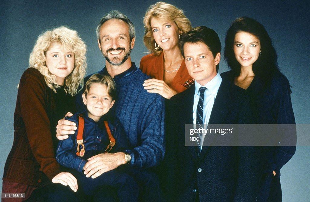 Steven Keaton, Meredith Baxter as Elyse Keaton, Michael J. Fox as Alex