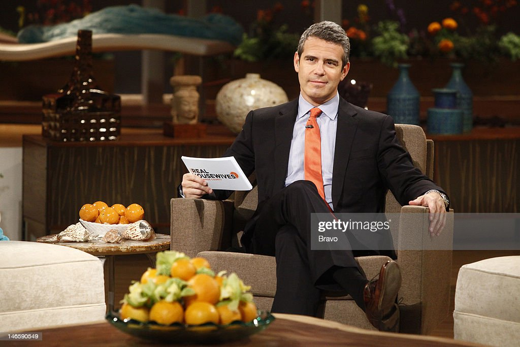 Host Andy Cohen --