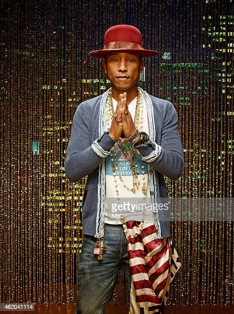 8 Pictured Pharrell Williams