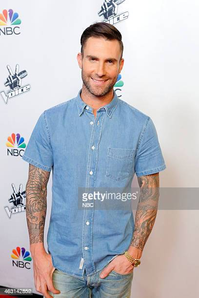 THE VOICE 'Season 8 Press Junket' Pictured Adam Levine