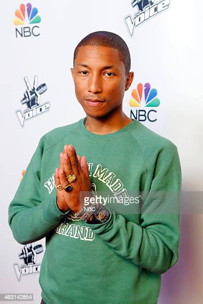 THE VOICE 'Season 8 Press Junket' Pictured Pharrell Williams