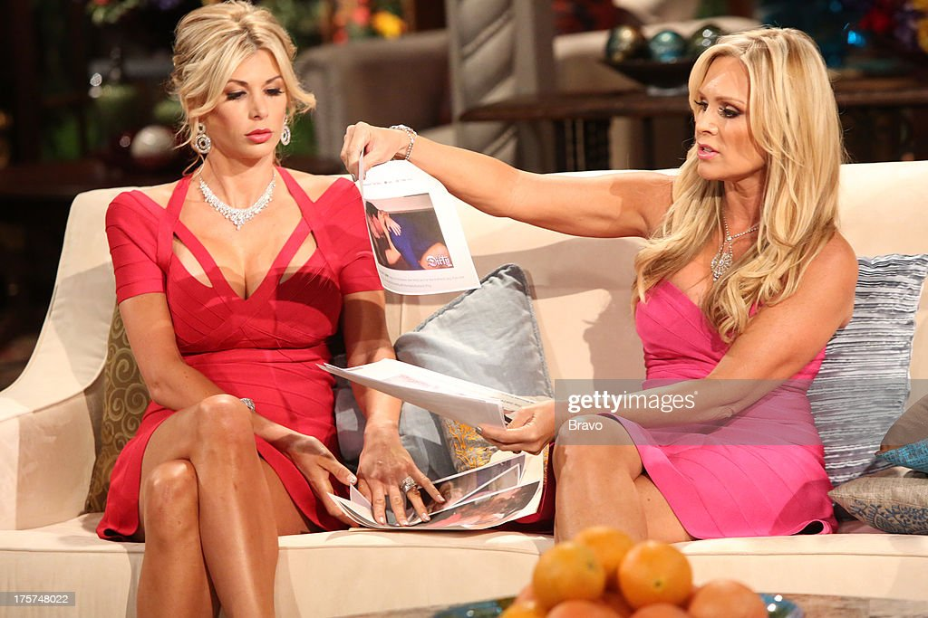 COUNTY --'Season 8 Reunion Special' -- Pictured: (l-r) Alexis Bellino, Tamra Barney --