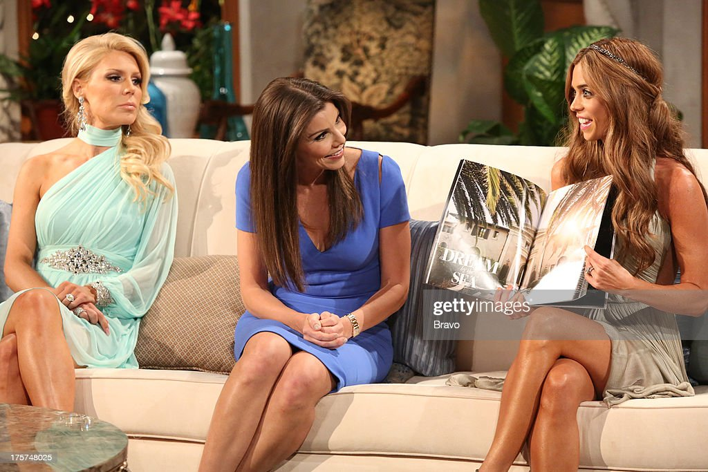 COUNTY --'Season 8 Reunion Special' -- Pictured: (l-r) <a gi-track='captionPersonalityLinkClicked' href=/galleries/search?phrase=Gretchen+Rossi&family=editorial&specificpeople=5637804 ng-click='$event.stopPropagation()'>Gretchen Rossi</a>, Heather Dubrow, Lydia McLaughlin --