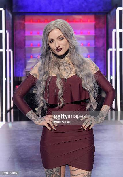 Season 8 winner of 'Ink Master' Ryan Ashley poses onstage during 'Ink Master' Season 8 Live Finale at at Manhattan Center Grand Ballroom on December...