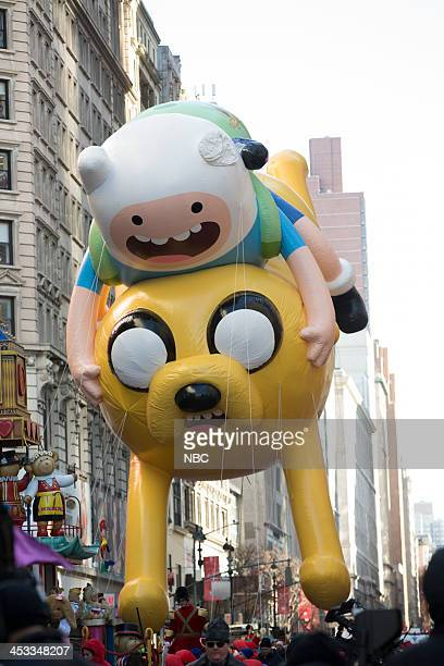 S THANKSGIVING DAY PARADE Season 87 Pictured Adventure Time balloon