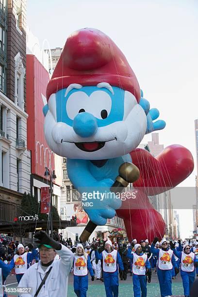 S THANKSGIVING DAY PARADE Season 87 Pictured Papa Smurf balloon