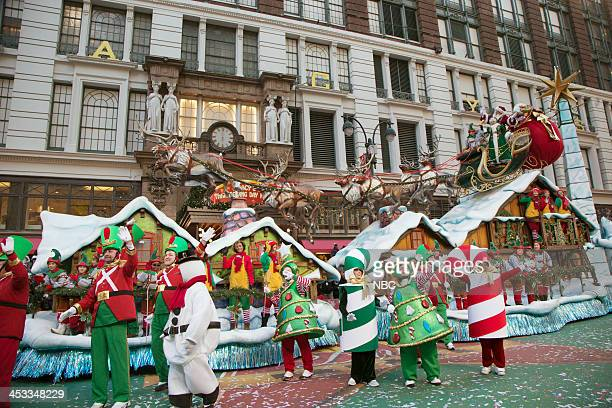 S THANKSGIVING DAY PARADE Season 87 Pictured Santa float