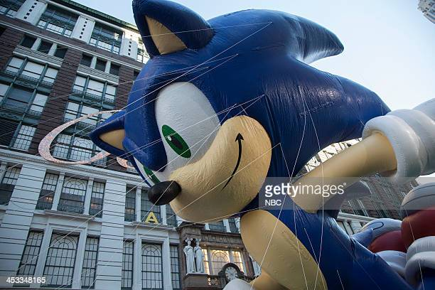 S THANKSGIVING DAY PARADE Season 87 Pictured Sonic the hedgehog balloon