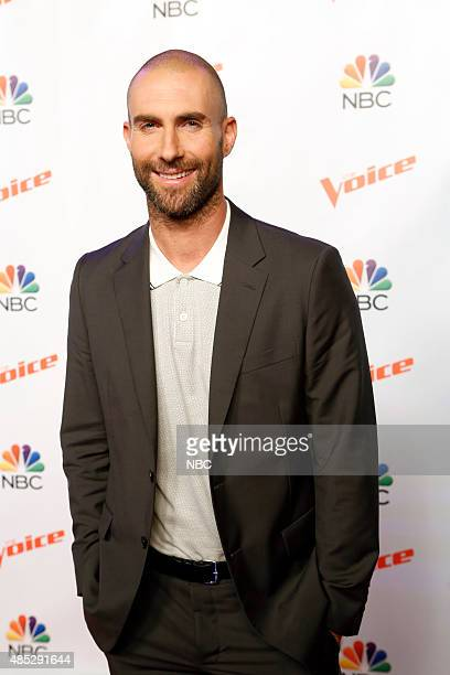 THE VOICE 'Season 9 Press Junket' Pictured Adam Levine
