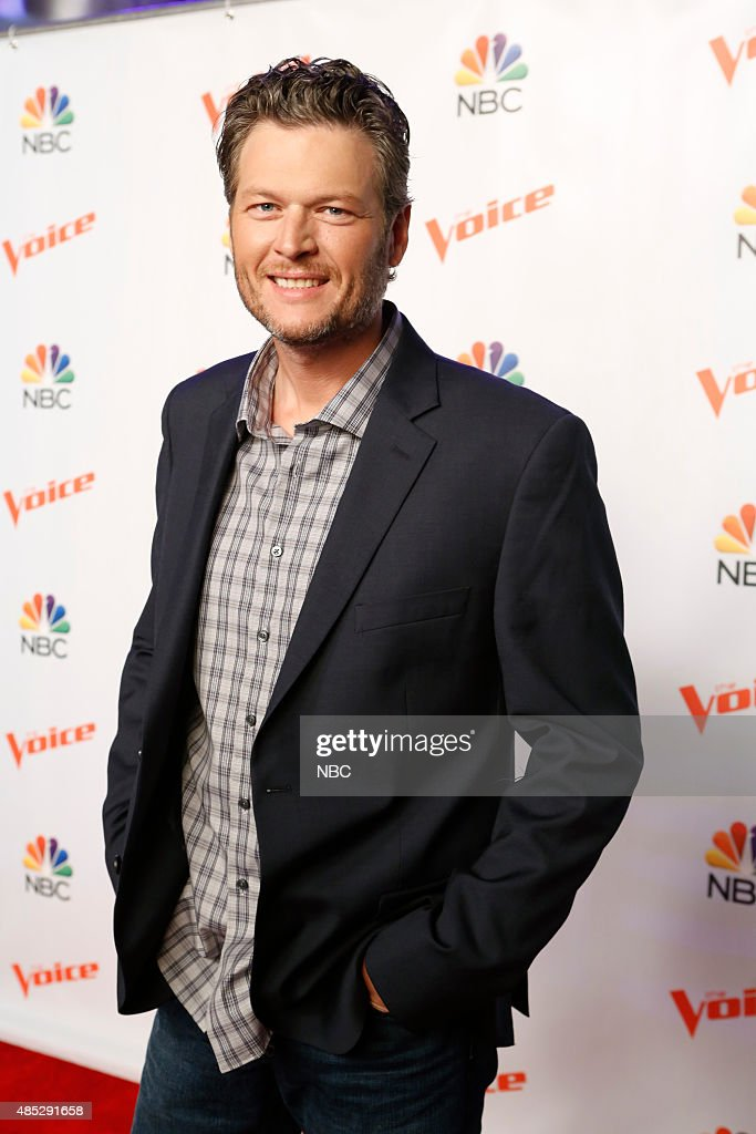 THE VOICE -- 'Season 9 Press Junket' -- Pictured: <a gi-track='captionPersonalityLinkClicked' href=/galleries/search?phrase=Blake+Shelton&family=editorial&specificpeople=2352026 ng-click='$event.stopPropagation()'>Blake Shelton</a> --