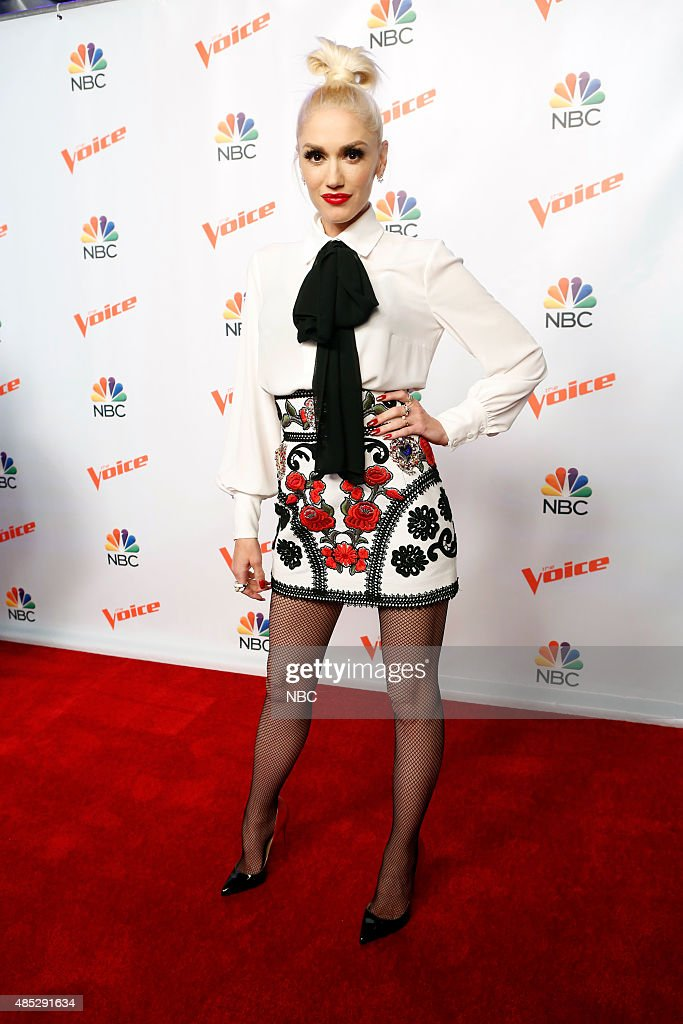 THE VOICE 'Season 9 Press Junket' Pictured Gwen Stefani