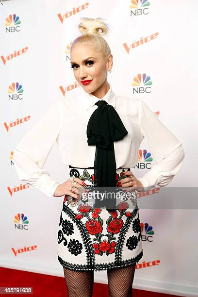 THE VOICE 'Season 9 Press Junket' Pictured Gwen Stefani