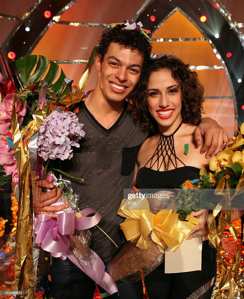 DANCE Season 9 winners Chehon WespiTschopp and Eliana Girard on FOX's 'So You Think You Can Dance' Season 9 Live Finale on September 18 2012 in...