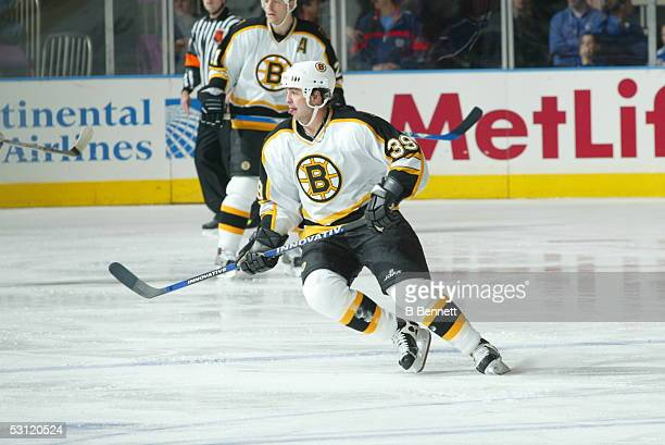 Boston Bruins at New York Rangers December 22 2003 And Player Travis Green
