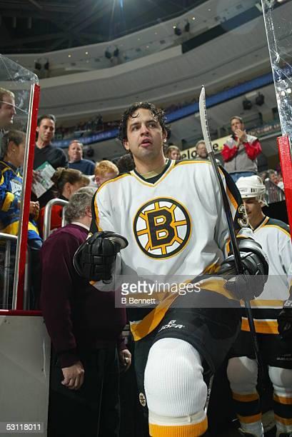 Boston Bruins at Philadelphia Flyers November 22 2003 And Player Travis Green