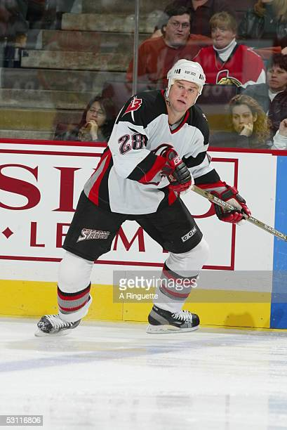 Buffalo Sabres vs Ottawa Senators at the Corel Centre in Ottawa on Saturday November 1 and Player Jason Botterill