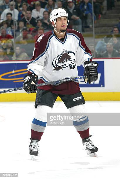 Colorado Avalanche vs Ottawa Senators at the Corel Centre in Ottawa ON Canada on March 18 2004 The game ended with a 20 Win for Ottawa and Player Bob...