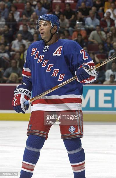 NY Rangers vs Montreal Canadiens and Player Sylvain Lefebvre
