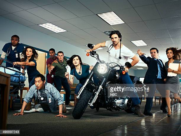 Pilot Pictured Robert Bailey Jr as Paul Jeananne Goossen as Krista Ken Leung as Topher JR Lemon as Kenny Brendan Fehr as Drew Jill Flint as Jordan...